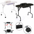 MANICURE NAIL TABLE SALON TECHNICIAN WORK DESK MOBILE BEAUTY TATTOO WORKSTATION