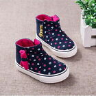 NEWFashion Baby Toddler'sGIRLS Floral Sports Casual Canvas Boots Shoes