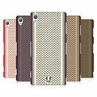 HEAD CASE DESIGNS SCARF INSPIRED HARD BACK CASE FOR SONY PHONES 1