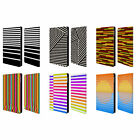 HEAD CASE DESIGNS DYNAMIC STRIPES LEATHER BOOK WALLET CASE FOR APPLE iPAD MINI 4