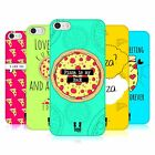 HEAD CASE DESIGNS FOREVER PIZZA HARD BACK CASE FOR APPLE iPH