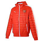 Arsenal FC Puma men's red padded T7 hooded football training jacket 2014-15