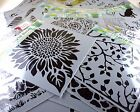 Crafters Workshop Plastic Template 12 X 12 inch STENCILS