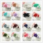 Внешний вид - 280x Artificial Flower Stamen Double Tip Pearlized Craft Cards Cakes Decorations