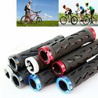 2Pcs Double Lock On Locking Bike Cycling Handle Bar Grips Mountain Bicycle