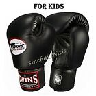 NEW BOXING GLOVES FOR KIDS S M L TWINS MUAY THAI FIGHTING MMA GENUINE LEATHER