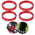 4PCS Aluminium Alloy 5mm 10mm Spacers For Stem Bicycle Bike Headset Washer New