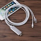 for iOS 10 iPhone 7 6 5 iPad 6.6FT Apple Lightning to HDMI HDTV Adapter Cable
