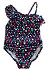 Baby Girls Kid's Swimwear One Piece Heart Valentine's day Swimsuit 1 2 3 5 6 10T