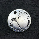 Jewelry Tibetan silver fing fit DIY fashion wish pendant 6-100pcs 20x20mm 2.4g