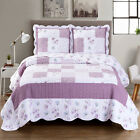 Ventura Oversized Reversible Print Easy Care Wrinkle Free Microfiber Coverlet image