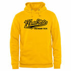 Michigan Tech Huskies Yellow Classic Wordmark Pullover Hoodie - College