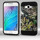 For Samsung GALAXY J7 Hybrid Rugged Shockproof Protective Case Cover Camo Vine