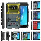 For Samsung Galaxy J Series Phone Case Hybrid Holster Clip Armor Video Games