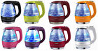 Ovente KG83 Series 1.5L BPA Free Glass Cordless Electric Kettle, 8 Colors