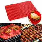 Non Stick Pyramid Pan Fat Reducing Silicone Cooking Mat Oven Baking Tray Sheets