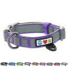 Adjustable Pet Soft Padded Reflective Dog Collar Classic by Pawtitas