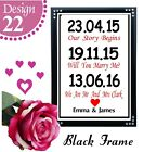 PERSONALISED FIRST WEDDING ANNIVERSARY GIFT ONE YEAR ANNIVERSARY GIFT SIGN