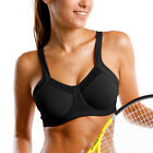Women's High Impact Workout Running Powerback Support Underwire Sports Bra