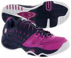 **NEW** WOMEN'S PRINCE T22 (CHINA MADE) NAVY/PUNCH TENNIS SHOES. 8P985-478