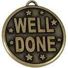 50mm Well Done Medal With FREE Ribbon & Engraving up to 30 Letters box option
