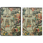 Comic Book Printed PC Case Cover For Apple iPad - Cylon BSG - S-A909
