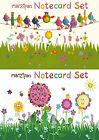 Robert Frederick Marzipan Flowers or Birds Note Card Set - Birthday Cards x 20