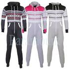 Aztec Print White Zip Two Tone Hooded Onesie  Mens, Womens Size