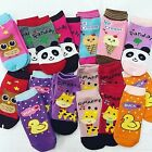 Bling theme ankle-fit Baby Kids Toddler  Girls  Nonslip Socks 5/10Set 3T-6T