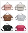 WOW STUNNING QUALITY FAUX LEATHER STRUCTURED WING LADIES HANDBAG SHOULDER BAG