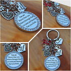 Happy Birthday  Gift Keyring for Friend Sister...  13th 18th 21st ,40th,50th