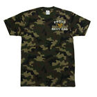 PRO CLUB CAMO Camouflage PROUD U.S. NAVY DAD PROUD NAVY DAD T-SHIRT T SHIRT