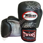 Twins Special Muay Thai Boxing Fancy Gloves FBGV-6S-BK Black 8-10-12-14-16 oz.