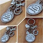 Mothers day / Birthday Gift Keyring  - The love between a mother & Daughter