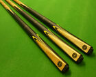 2pc Buffalo Pool cue with Ash shaft & Ebonised butt & Maple front splice