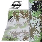 """Camouflage Camo Decals Stickers Wrap Vinyl  """"Military Design"""" ALL SIZES - UV PRO"""