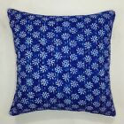 "16"" India kantha Throw Cushion Cover Pillow Cases Floral Ikat Vintage Home Decor"