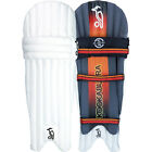 Kookaburra Blaze 150 Mens Kids Cricket Batting Pads Leg Guards White/Black/Red