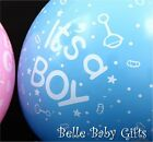 Baby Shower Balloons - It's A Boy - It's A Girl - He or She - 10 Pack