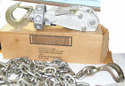 Aircraft CARGO TIE-DOWN  DAVIS 98313 10,000 lb load rating  9' Chain AIRPLANE