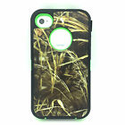 iPhone 4 4S Heavy Duty ShockProof Hard Protective Hybrid Rugged Hard Case Cover