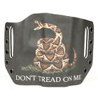 Colt, CZ, Diamondback, FN - OWB Kydex Holster Don't Tread BLK