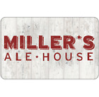 Miller's Ale House Gift Card - $25 $50 or $100 - Fast Email delivery