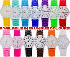 New Men Women Silicone Wrist Watch Stainless Steel Case Quartz Sport Analog Date