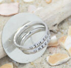 Name Rings -Stainless Steel-Names Engraved ~ 3mm stackable-discounted фото