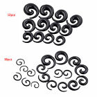 Acrylic Spiral Ear Stretching KIT Taper Gauge Expander Body jewelry LOT 1.6-20MM