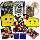 Retro Classic Brick Toy Gifts - Mug, Tea Cosy, USB Drive, Flight Bag