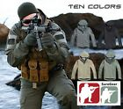 SPECIAL FORCES OPS Tactical Jacket SWAT Operators Coat Stealth Hoodie Airsoft