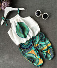 US 2PCS Toddler Kids Baby Girls Outfits T-shirt Tops Dress Pants Clothes Set
