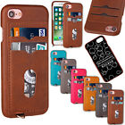 Slim Wallet Credit Card Holder Cover Leather Thin Case Skin For iPhone 6 / 6s